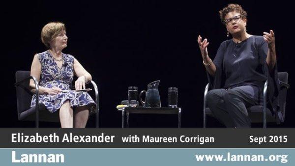 Elizabeth Alexander with Maureen Corrigan, 30 September 2015