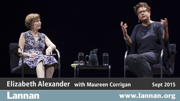 Elizabeth Alexander with Maureen Corrigan, 30 September 2015