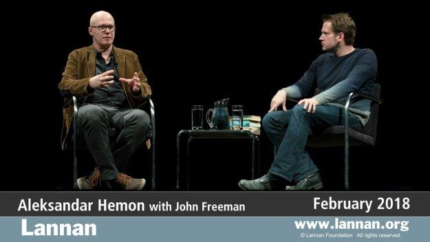 Aleksandar Hemon, 28 Feb 2018, Conversation