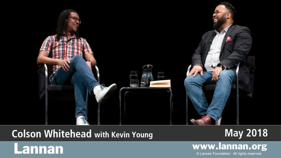 Colson Whitehead with Kevin Young