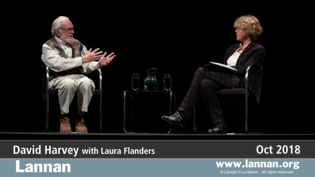 David Harvey with Laura Flanders