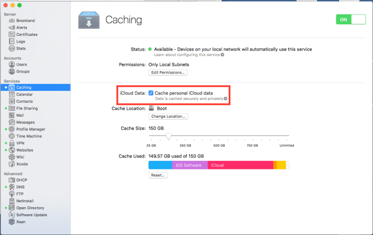 Caching Service 5.1