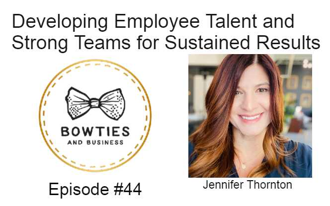 Developing Employee Talent and Stronger Teams
