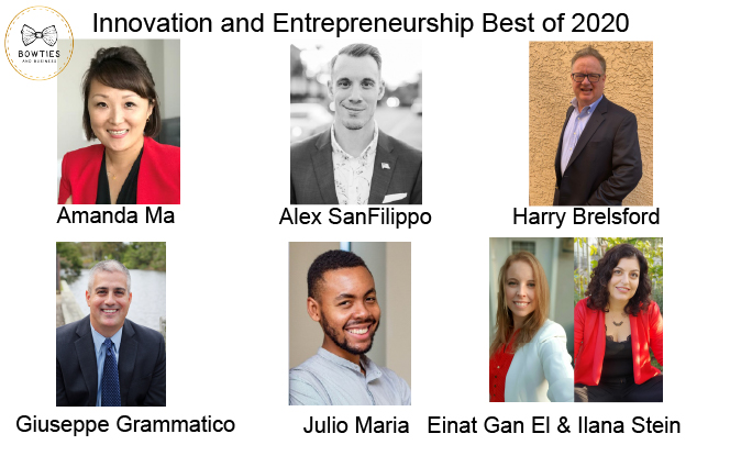 Best of Innovators and Entrepreneurs in 2020