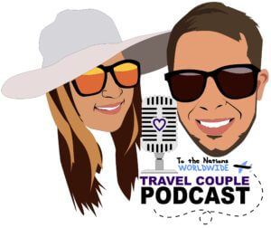 To the Nations Worldwide Couple Travel Podcast Logo