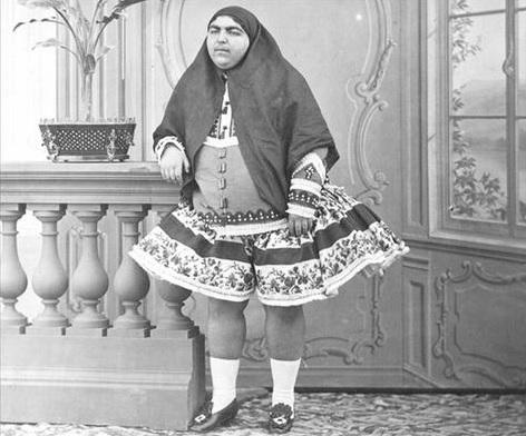כוסית קאג'ארית Qajar hottie داف قاجار