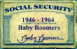 Baby Boomer Social Security Card