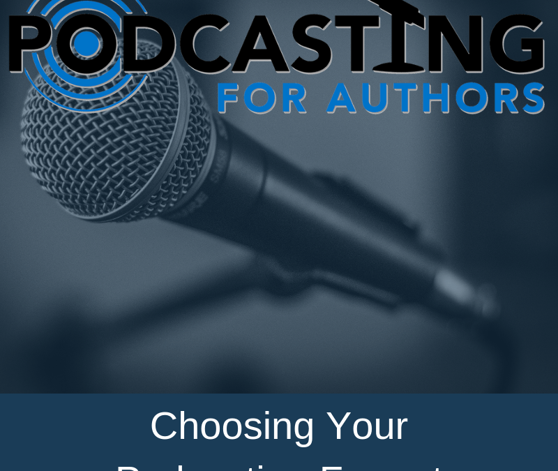 103: Choosing Your Podcasting Format