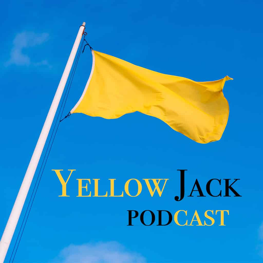 Yellow Flag with Yellow Jack Podast graphic