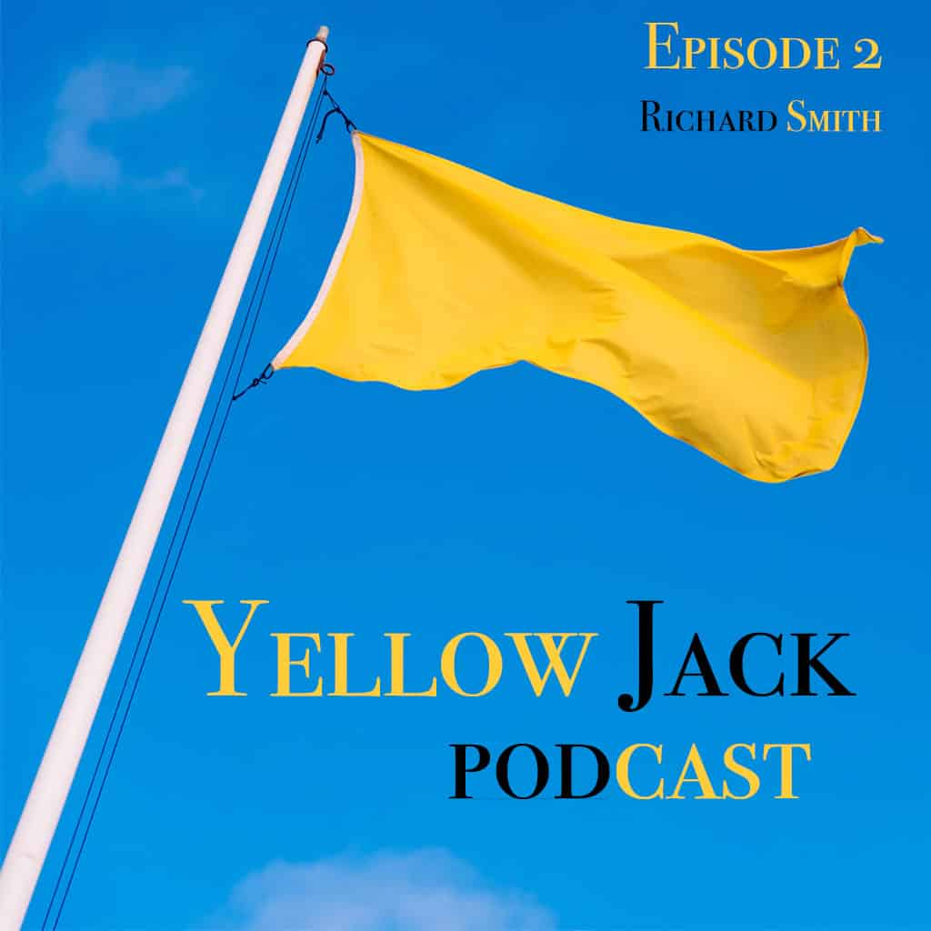 Image of yellow flag,  Episode 2 with Richard Smith