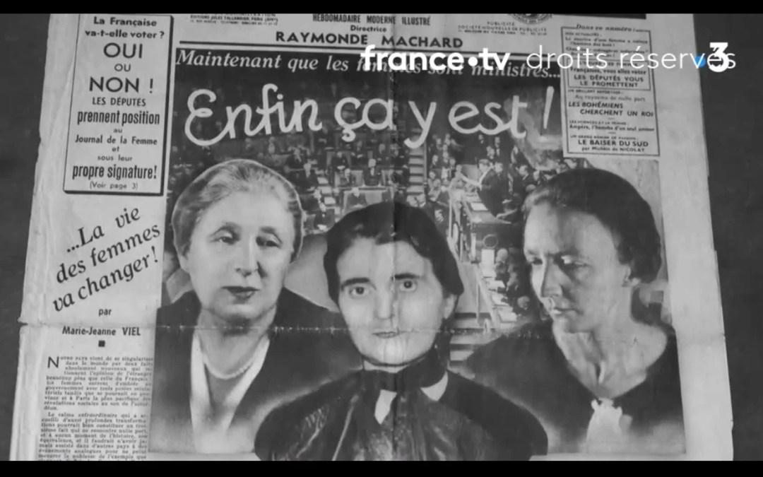 Front populaire, trois femmes en première ligne (Première partie)