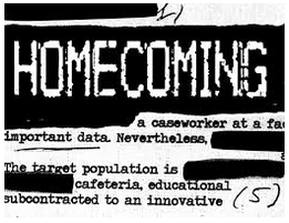 Homecoming podcast cover image