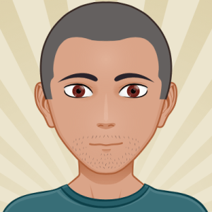 Avatar portrait of Fred, cartoon style
