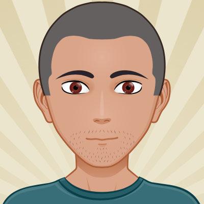 Avatar portrait of Fred, cartoon style
