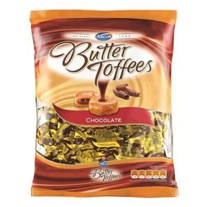 Bala Butter Toffees sabor Chocolate 600g