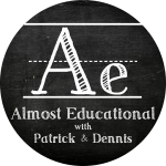 Almost Educational Podcast Logo Round