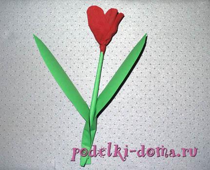Cvety iz konfet4.