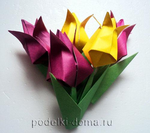 Tulpany origami27.