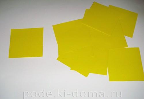 бумажные цветы нарциссы02