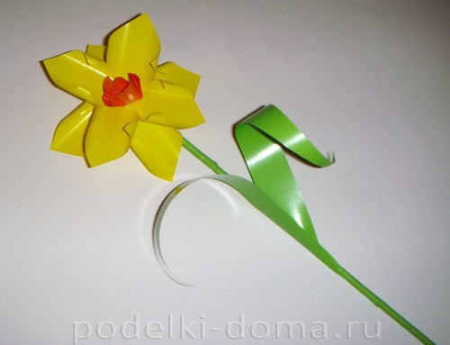 Paper Flowers daffodils12.