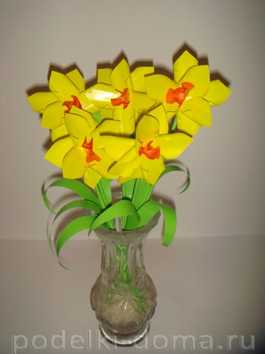 Paper Flowers Narcissus15.
