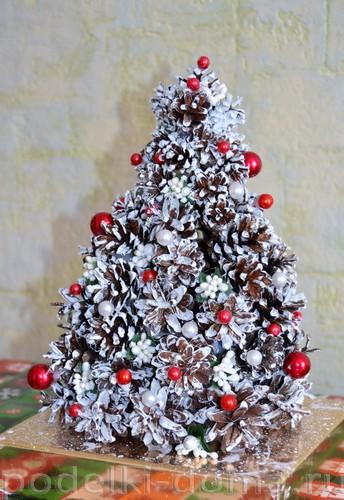 Χριστουγεννιάτικο δέντρο των κώνων