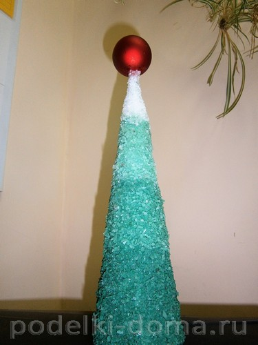 Árvore de Natal de sal