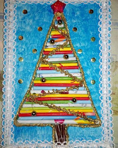 Weihnachtsbaum aus Tubes2.