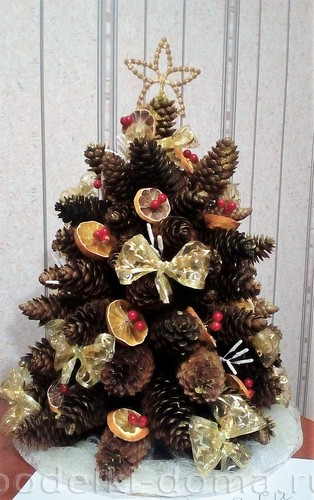 Köpüklü Noel ağacı