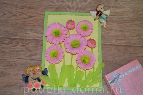 Paper Flowers daisy appliqué26.