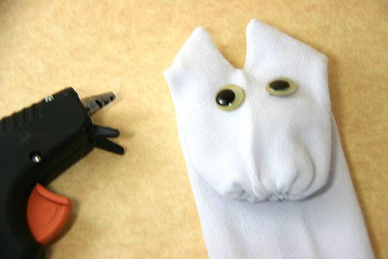 как сделать игрушки +из носков (5) — Поделки для детей
