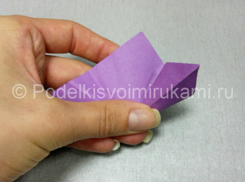 Origami Lotus Flower Easy Instructions - All About Craft | 631x850