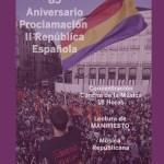 Acto de conmemoración de la II República