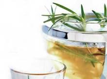 receita do chá de alecrim