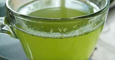 receita do chá verde