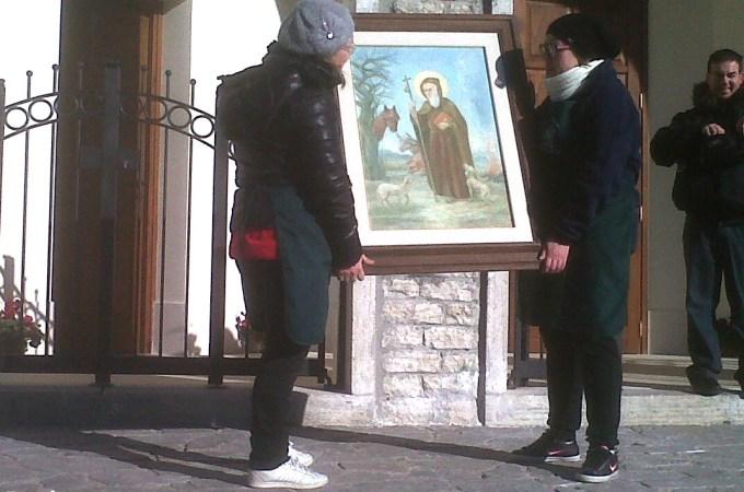 La festa di Sant'Antonio Abate a Onano