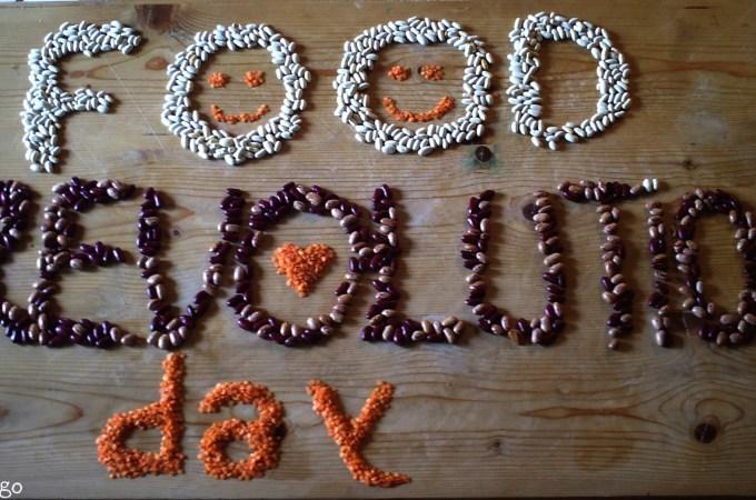#FoodRevolutionDay e disegnare con i fagioli
