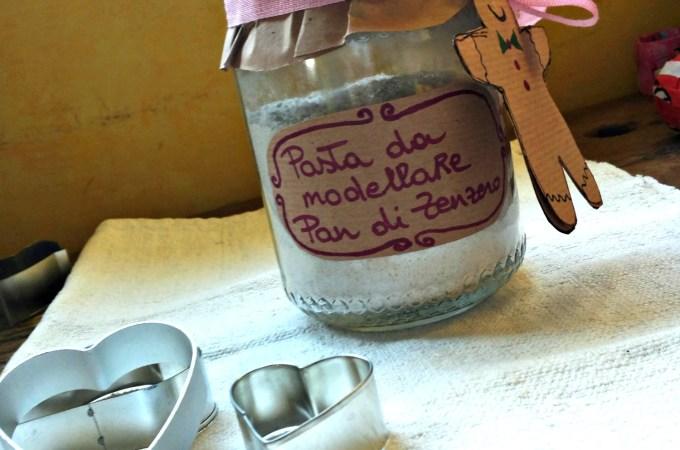 Pasta da modellare al Pan di Zenzero, un regalo last minute e fai da te