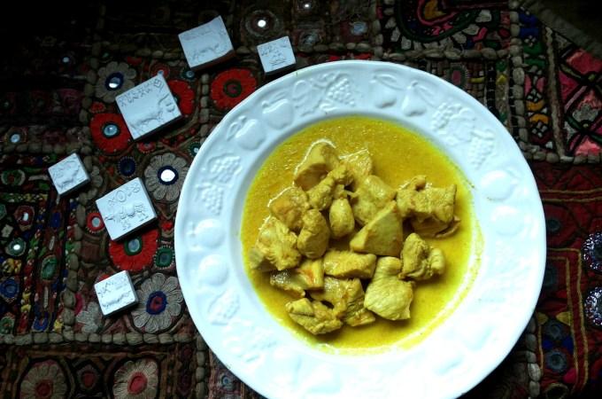 Liberiamo una ricetta 2014: petti di pollo al curry e yogurt