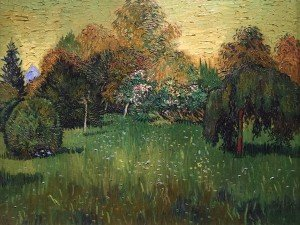 The Poets Garden by Van Gogh