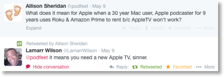 Lamarr Wilson calls me a sinner for hating on the AppleTV
