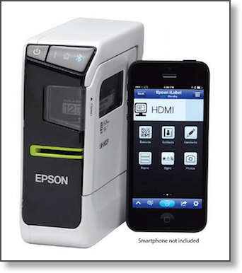 Epson Labelworks Portable Labeler