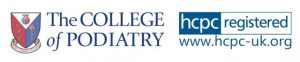 Registered with the collge of podiatry