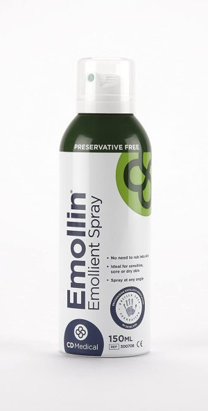 Emollin moisturising spray 150ml