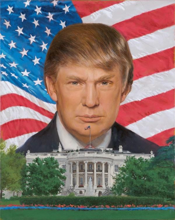 Дональд Трамп, избранный Президент США