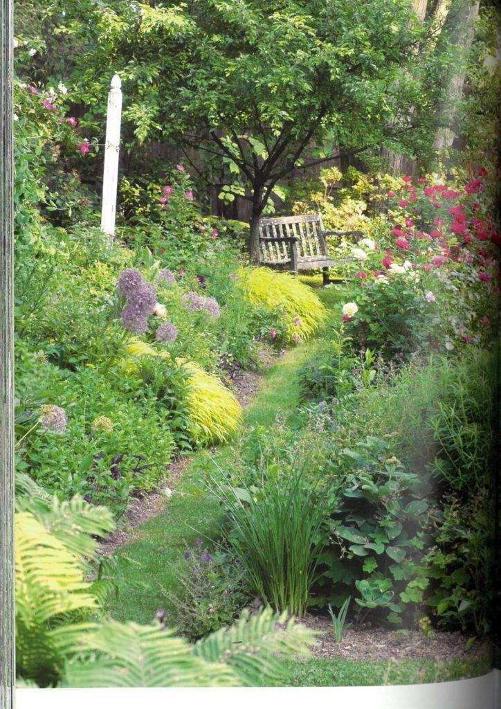 the layered garden - rabat różana
