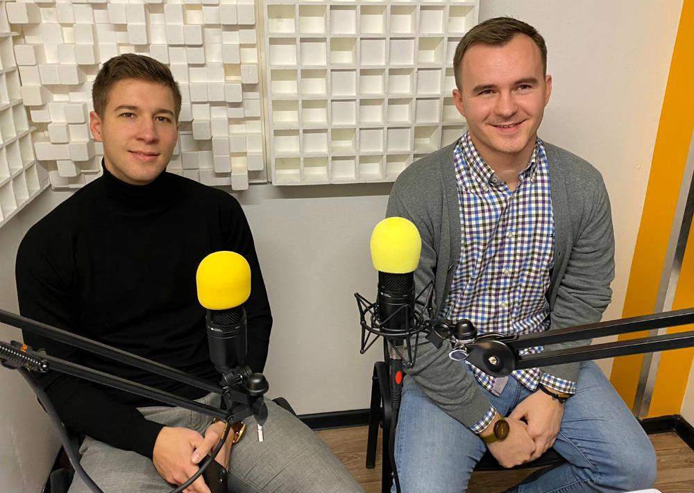 Adam Brocka a Radovan Hankovský