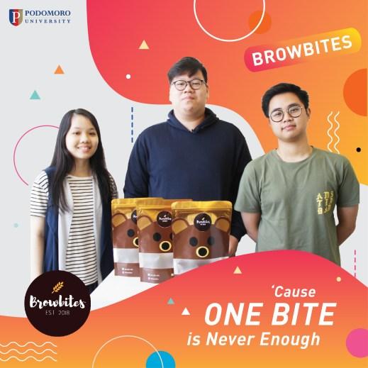 1st Semester Students of Podomoro University Entrepreneurship Program won Business Plan Competition at Mercubuana University