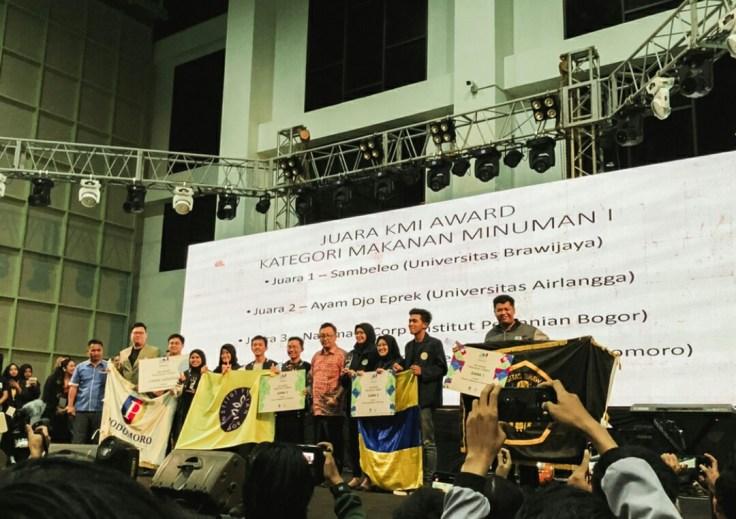 Ajak Mahasiswa Jadi Pengusaha Lewat KMI Expo