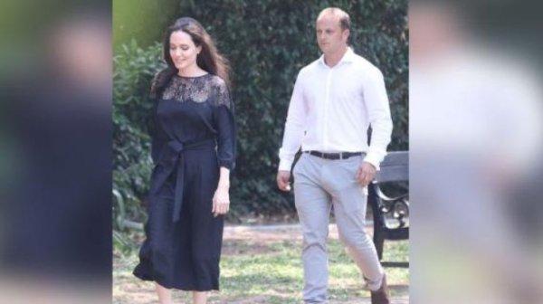 """Анджелина Джоли """"засветилась"""" с новым мужчиной (фото ..."""